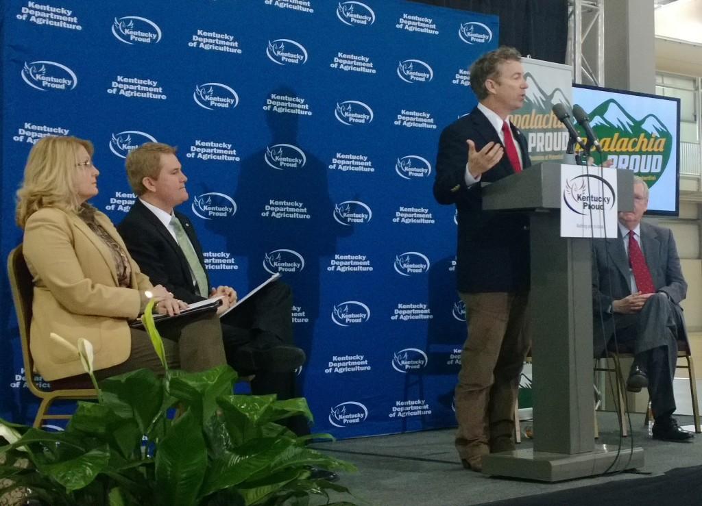 Hemp Champions: KY State Senator Robin Webb, Ag Commissioner James Comer, Senators Rand Paul and Mitch McConnell