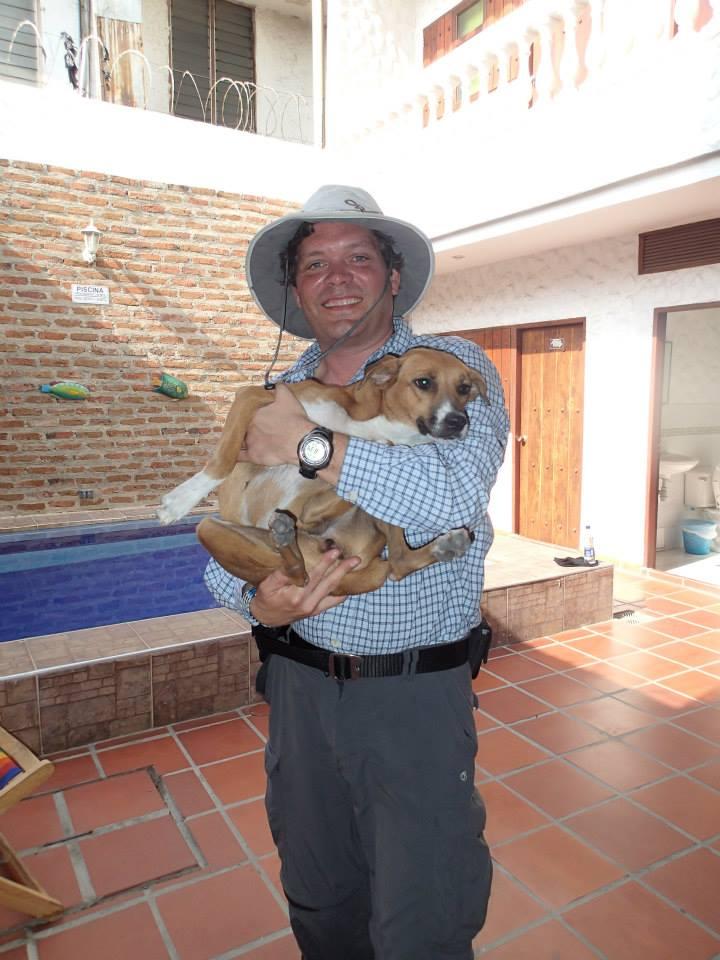 Rob Moseley, Original Kentucky Hemp Commission member, world traveler, and animal lover!