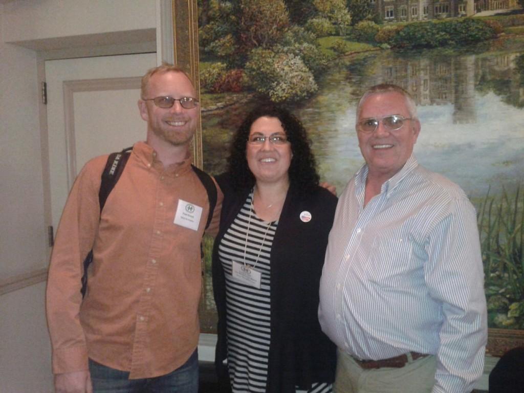Kentucky hemp expert and Hemp Commission member Craig Lee (right)